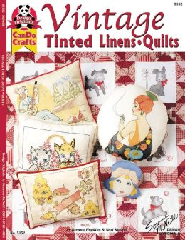 Vintage Tinted Linens / Quilts