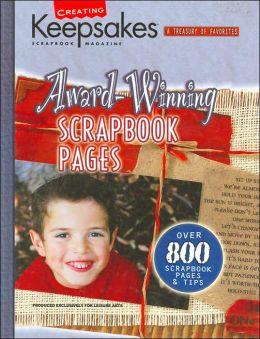 Award-Winning Scrapbook Pages