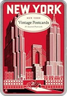 New York Carte Postale Postcards
