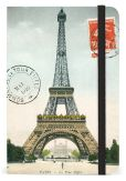 Product Image. Title: Eiffel Tower Bound Pocket Lined Journal 4 X 6