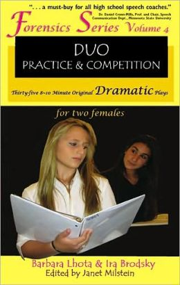 35 Original Dramatic Plays for Two Females (Forensics Duo Series)