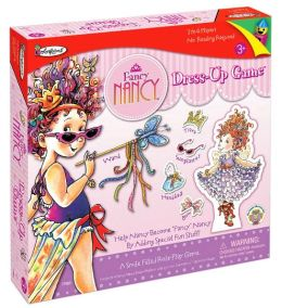 Fancy Nancy Colorforms Dress Up Game
