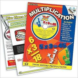 Multiplication Workbook and Music CD