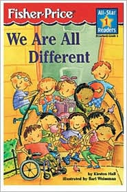 We Are All Different (All-Star Readers Series)