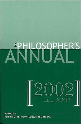 Philosopher's Annual