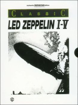 Classic Led Zeppelin I-V (Boxed Set): Authentic Guitar TAB, Book (Boxed Set)