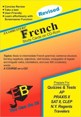 French: Exambusters CD-ROM Study Cards