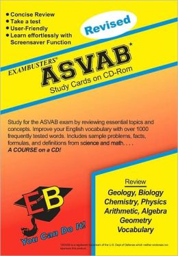 ASVAB: Exambusters CD-ROM Study Cards