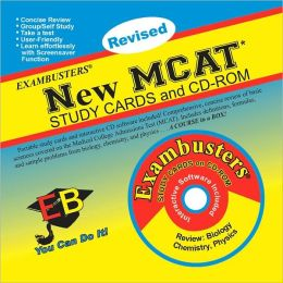 New MCAT: Exambusters Study Cards & CD-ROM