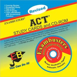 ACT: Exambusters Study Cards & CD-ROM