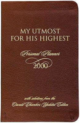 Oswald Chambers 2000 Planner