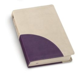 The Message, Numbered Edition: Stone/purple leather look