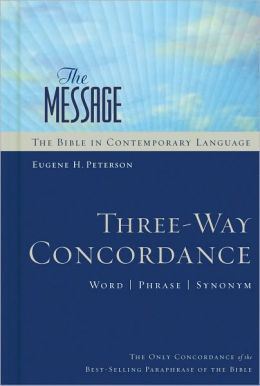The Message: Three-Way Concordance