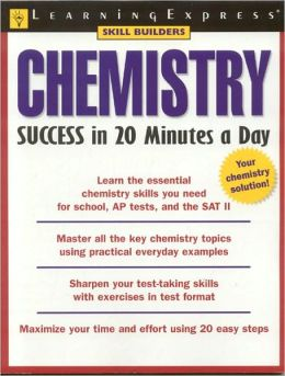 Chemistry Success in 20 Minutes a Day (Skill Builders Series)