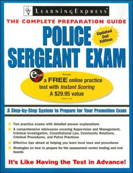 Police Sergeant Exam, 2nd Edition