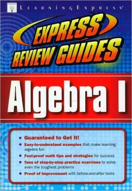 Express Review Guide: Algebra I