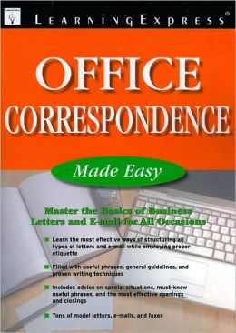 Office Correspondence Made Easy