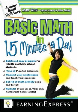 Junior Skill Builders: Basic Math in 15 Minutes a Day