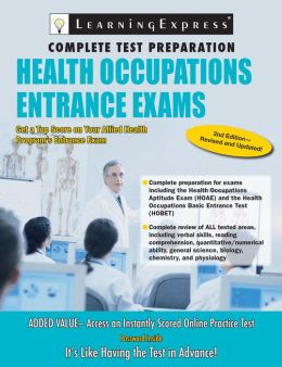 Health Occupations Entrance Exam