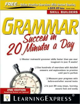 Grammar Success in 20 Minutes a Day, 2nd Edition