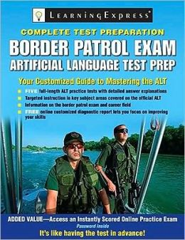 Border Patrol Exam: Artificial Language Test Prep