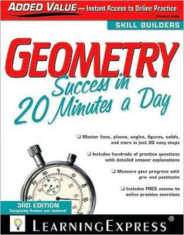 Geometry Success in 20 Minutes a Day, 3rd Edition