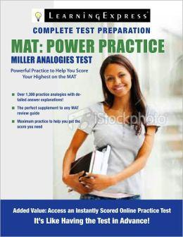 MAT: Power Practice