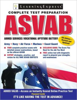 ASVAB: The Complete Preparation Guide