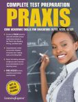 Book Cover Image. Title: Praxis:  Core Academic Skills for Educators: (5712, 5722, 5732), Author: LearningExpress, LLC