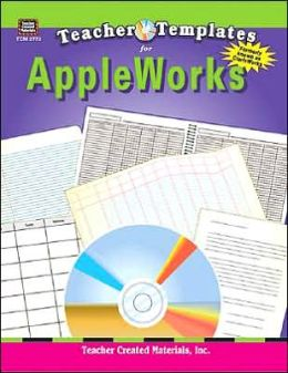 Teacher Templates for Appleworks