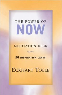 The Power of Now Meditation Deck: 50 Inspirational Cards
