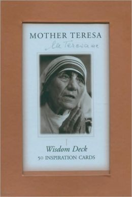Mother Teresa Wisdom Deck: 50 Inspiration Cards