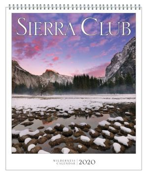 Book 2020 Sierra Club Wilderness Calendar