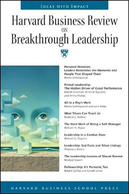 Harvard Business Review on Breakthrough Leadership