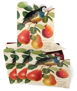 Partridge in a Pear Tree Christmas Boxed Card