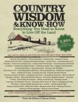 Book Cover Image. Title: Country Wisdom & Know-How:  A Practical Guide to Living off the Land, Author: Storey Books
