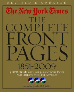 The New York Times: The Complete Front Pages 1851-2009
