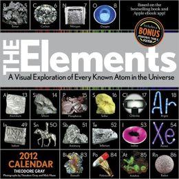 2012 Elements Wall Calendar