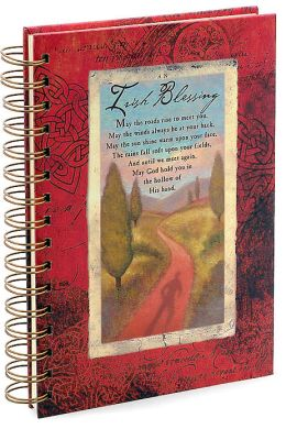 Irish Blessing Spiral Journal