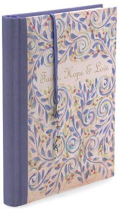 Faith Hope Love Bound 7x9 Journal