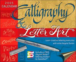 2005 Calligraphy & Letter Art Box Calendar