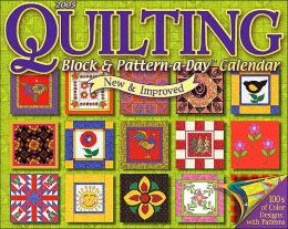 2005 Quilting Block & Pattern-a-Day Box Calendar