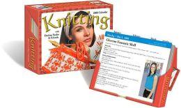 2008 Knitting Pattern-A-Day Box Calendar