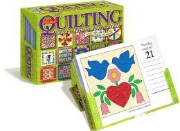 2008 Quilting Box Calendar