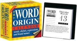 2008 Word Origin Box Calendar