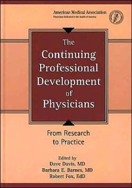 The Continuing Professional Development of Physicians: From Research to Practice