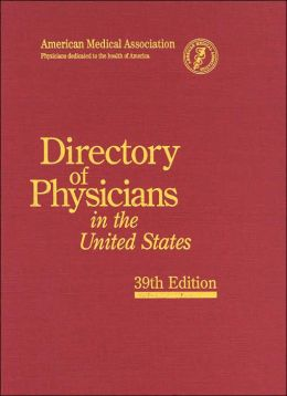 Directory of Physicians in the United States, 4 Vol Set