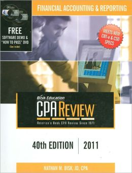 CPA Review: Financial Accounting & Reporting - 40th Edition