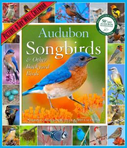 2014 Audubon Songbirds & Other Backyard Birds Picture-A-Day Wall Calendar