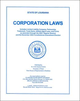 State of Louisiana Corporation Laws